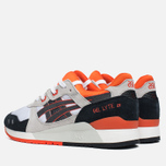 Мужские кроссовки ASICS Gel-Lyte III Black/Orange/White фото- 2
