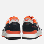 Asics Gel-Lyte III Men's Sneakers Black/Orange/White photo- 3