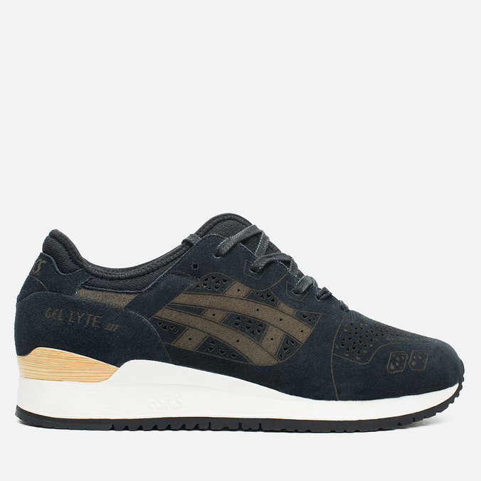 Кроссовки ASICS Gel-Lyte III Laser Cut Pack Black