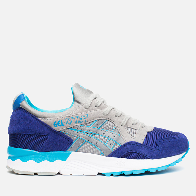Мужские кроссовки ASICS Gel-Lyte V Vibrant Mesh Pack Dark Blue/Light Grey