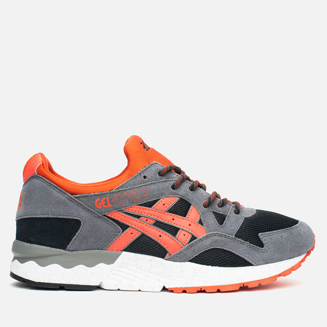 Мужские кроссовки ASICS Gel-Lyte V Black/Orange