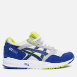 Кроссовки ASICS Gel-Saga White/Dark Blue фото- 0