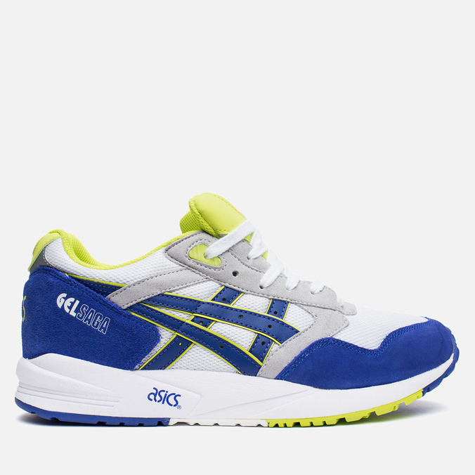 Кроссовки ASICS Gel-Saga White/Dark Blue