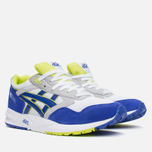 Кроссовки ASICS Gel-Saga White/Dark Blue фото- 1