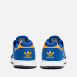 Детские кроссовки adidas Originals Racer Lite K Collegiate Royal/Gold/White фото- 3