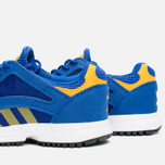 Детские кроссовки adidas Originals Racer Lite K Collegiate Royal/Gold/White фото- 5