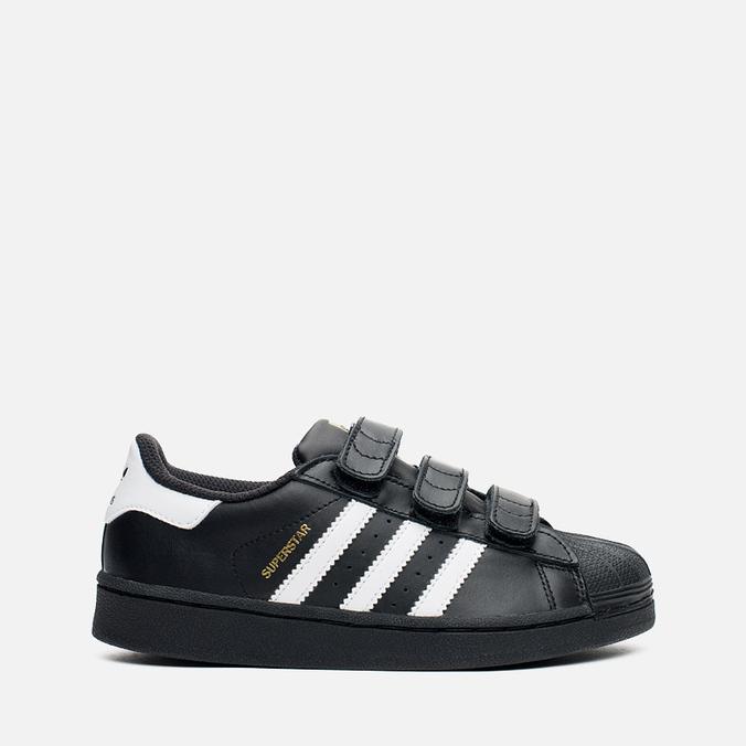 3119fcb3 Детские кроссовки adidas Originals Superstar Foundation CF C Black/White ...