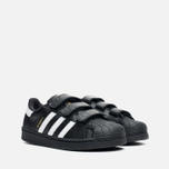 Детские кроссовки adidas Originals Superstar Foundation CF C Black/White фото- 1