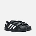 Детские кроссовки adidas Originals Superstar Foundation CF C Black/White фото- 1