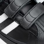 Детские кроссовки adidas Originals Superstar Foundation CF C Black/White фото- 7