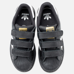 Детские кроссовки adidas Originals Superstar Foundation CF C Black/White фото- 4