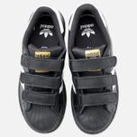 Детские кроссовки adidas Originals Superstar Foundation CF C Black/White фото- 4