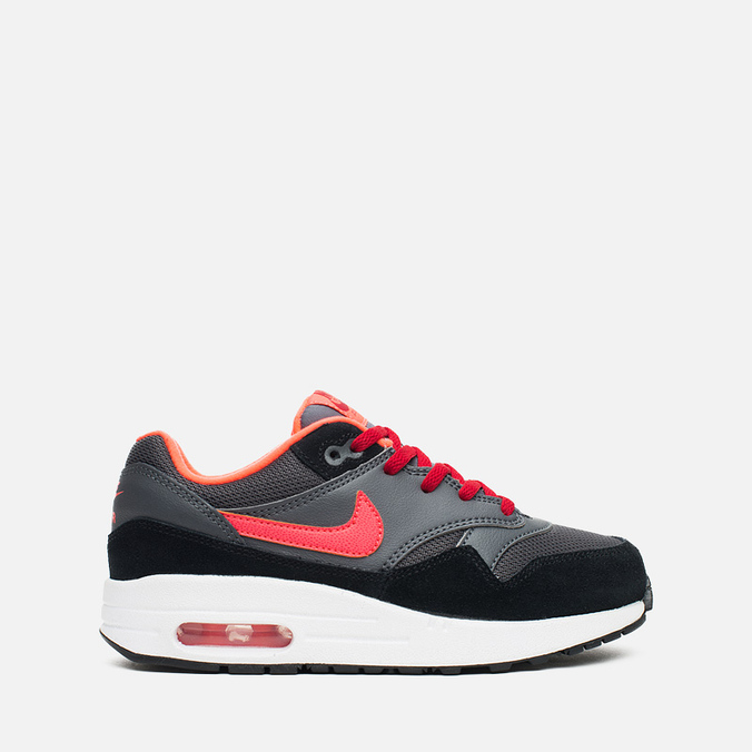 Детские кроссовки Nike Air Max 1 PS Dark Grey/Hot Lava/Gum
