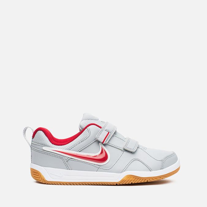 Nike Lykin 11 PSV Children's Sneakers Wolf Grey/Red