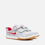 Nike Lykin 11 PSV Children's Sneakers Wolf Grey/Red photo- 1
