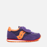 Saucony G Toddler Jazz Triple HL Childrens's Sneakers Purple/Orange photo- 0