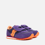 Saucony G Toddler Jazz Triple HL Childrens's Sneakers Purple/Orange photo- 1