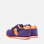 Saucony G Toddler Jazz Triple HL Childrens's Sneakers Purple/Orange photo- 2