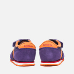 Saucony G Toddler Jazz Triple HL Childrens's Sneakers Purple/Orange photo- 3