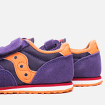 Saucony G Toddler Jazz Triple HL Childrens's Sneakers Purple/Orange photo- 7