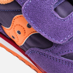 Saucony G Toddler Jazz Triple HL Childrens's Sneakers Purple/Orange photo- 5