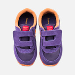 Saucony G Toddler Jazz Triple HL Childrens's Sneakers Purple/Orange photo- 4