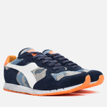 Diadora Heritage Trident Camo Perf Men's Sneakers Blue Denim/White photo- 1