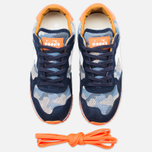 Diadora Heritage Trident Camo Perf Men's Sneakers Blue Denim/White photo- 4