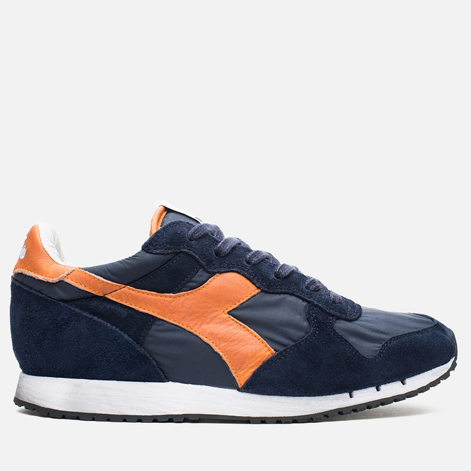Кроссовки Diadora Heritage Trident NY S.W Blue Denim/Flame Orange