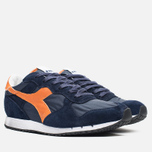 Кроссовки Diadora Heritage Trident NY S.W Blue Denim/Flame Orange фото- 1