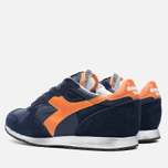 Кроссовки Diadora Heritage Trident NY S.W Blue Denim/Flame Orange фото- 2