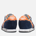 Кроссовки Diadora Heritage Trident NY S.W Blue Denim/Flame Orange фото- 3
