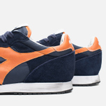 Кроссовки Diadora Heritage Trident NY S.W Blue Denim/Flame Orange фото- 5