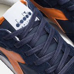 Кроссовки Diadora Heritage Trident NY S.W Blue Denim/Flame Orange фото- 6