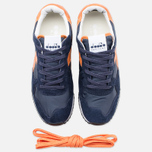 Кроссовки Diadora Heritage Trident NY S.W Blue Denim/Flame Orange фото- 4