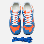 Кроссовки Diadora Heritage Trident NY S.W Dark Orange/Princess Blue фото- 4