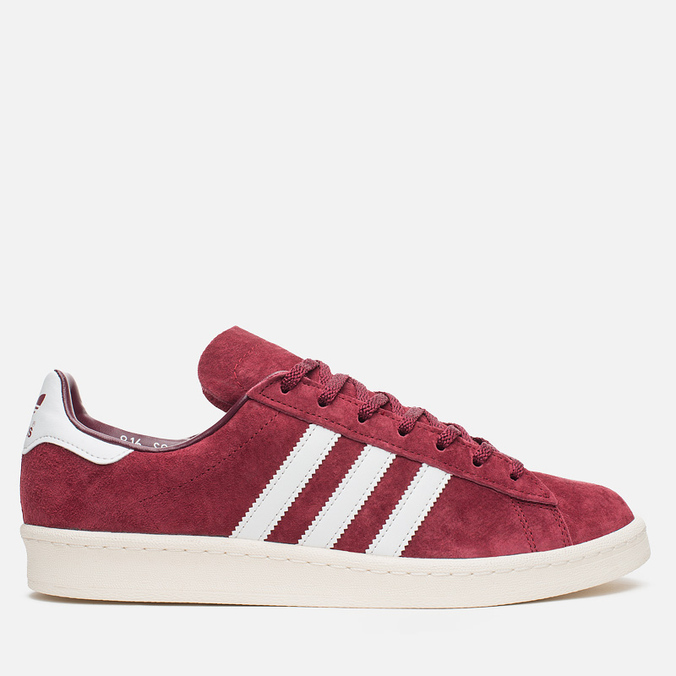 Мужские кроссовки adidas Originals Campus 80s Vintage Japan Pack Collegiate Burgundy/Off White
