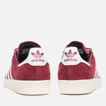 Мужские кроссовки adidas Originals Campus 80s Vintage Japan Pack Collegiate Burgundy/Off White фото- 3