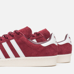 Мужские кроссовки adidas Originals Campus 80s Vintage Japan Pack Collegiate Burgundy/Off White фото- 5