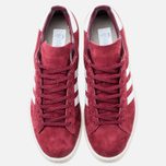 Мужские кроссовки adidas Originals Campus 80s Vintage Japan Pack Collegiate Burgundy/Off White фото- 4
