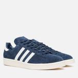 Мужские кроссовки adidas Originals Campus 80s Vintage Japan Pack Dark Blue/Off White фото- 1