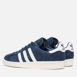 Мужские кроссовки adidas Originals Campus 80s Vintage Japan Pack Dark Blue/Off White фото- 2