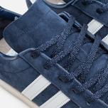 Мужские кроссовки adidas Originals Campus 80s Vintage Japan Pack Dark Blue/Off White фото- 6