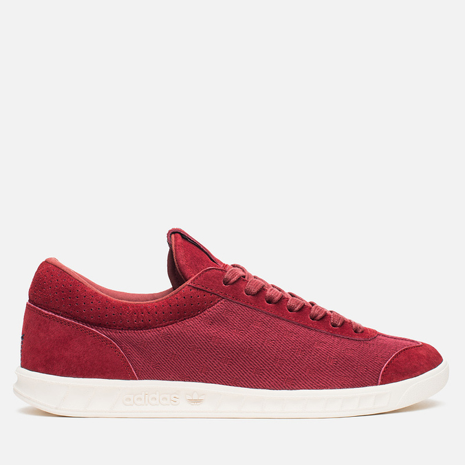 Мужские кроссовки adidas Originals Hamburg Freizeit Rusred/White/Collegiate Burgundy