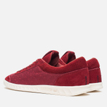 Мужские кроссовки adidas Originals Hamburg Freizeit Rusred/White/Collegiate Burgundy фото- 2