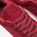 Мужские кроссовки adidas Originals Hamburg Freizeit Rusred/White/Collegiate Burgundy фото- 6