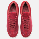 Мужские кроссовки adidas Originals Hamburg Freizeit Rusred/White/Collegiate Burgundy фото- 4