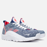 Мужские кроссовки Nike Air Trainer Huarache Low QS USA Denim Royal Blue/White/Gym Red фото- 1