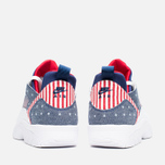 Мужские кроссовки Nike Air Trainer Huarache Low QS USA Denim Royal Blue/White/Gym Red фото- 3