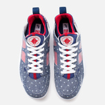 Мужские кроссовки Nike Air Trainer Huarache Low QS USA Denim Royal Blue/White/Gym Red фото- 4